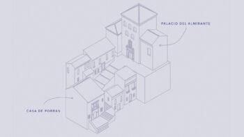 Imagen de portada de La actividad de Casa de Porras se trasladará al vecino Palacio del Almirante