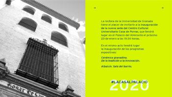 Imagen de portada de Nueva sede Casa de Porras