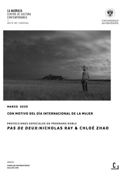 Imagen de portada de Proyecciones especiales en programa doble – Pas de Deux: Nicholas Ray & Chloé Zhao