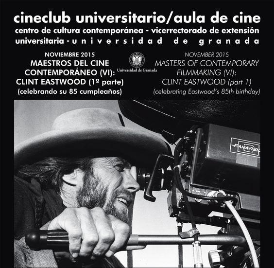 Imagen de portada de Los cuadernos del Cineclub: «Maestros del Cine Contemporáneo: Clint Eastwood (1ª parte)»
