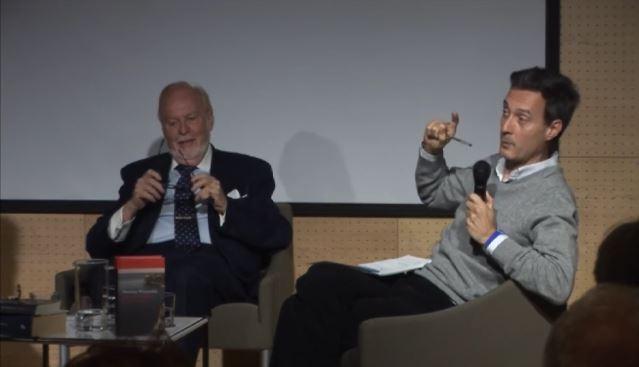 Imagen de portada de «Diálogos literarios. Mauricio Wiesenthal y Alfredo Valenzuela»