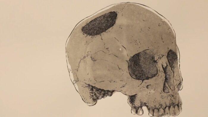 Imagen de portada de Exposición «La muerte y el ciego», de Cristina Ramírez