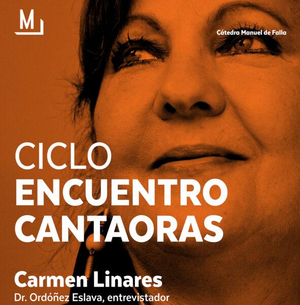 Imagen de portada de Sugerencia del día: Encuentro con Carmen Linares