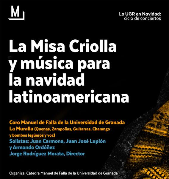 Imagen de portada de Sugerencia del día: Concierto «La Misa Criolla y música para la Navidad latinoamericana»