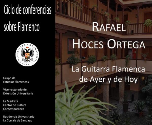 Imagen de portada de Sugerencia del día: Conferencia «La guitarra flamenca de ayer y hoy»