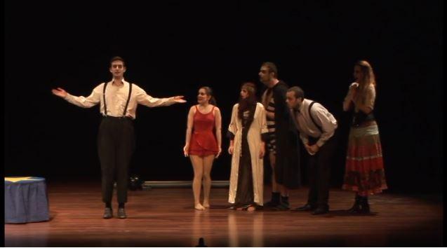 Imagen de portada de XIV Encuentro Internacional de Teatro Universitario de Granada