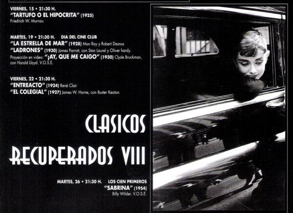 Imagen de portada de Nacid@s tal día como hoy…4 de mayo: Audrey Hepburn, Esmond Knight, Richard Jenkins y Adolfo Waitzman
