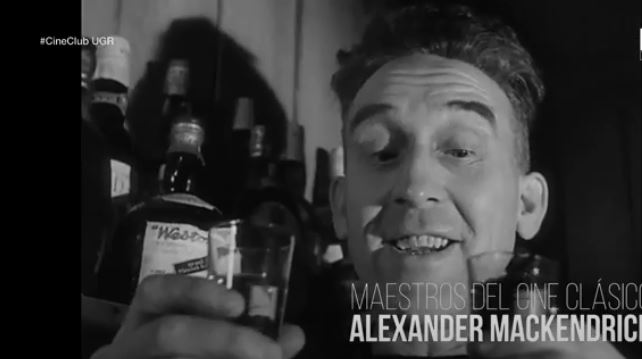 Imagen de portada de El cine de Alexander Mackendrick: «Whisky a gogó»