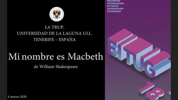 Imagen de portada de Sugerencia del día: Teatro «Mi nombre es Macbeth»