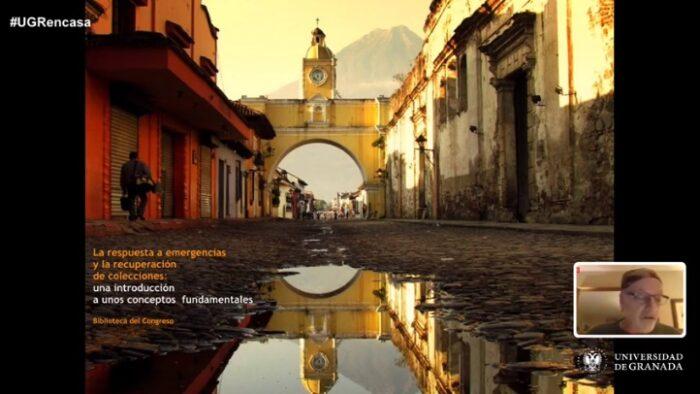 Imagen de portada de Conferencia «La respuesta a emergencias y la recuperación de colecciones: una introducción a conceptos fundamentales»