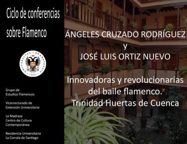 """Imagen de portada de Sugerencia del día: Conferencia Innovadoras y revolucionarias del baile flamenco: Trinidad Huertas """"La Cuenca"""""""