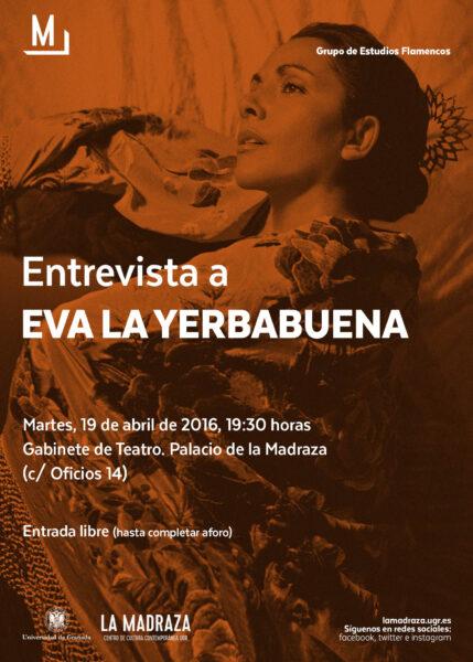 Imagen de portada de Sugerencia del día: Entrevista a Eva 'Yerbabuena'