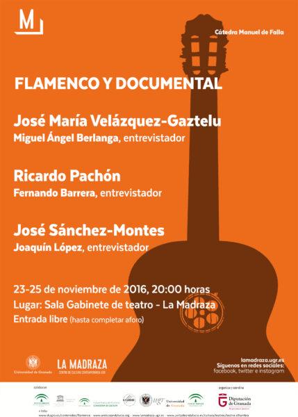 Imagen de portada de Sugerencia del día: «Flamenco y Documental – José María Velázquez-Gaztelu»
