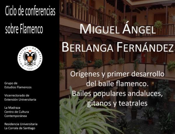 Imagen de portada de Sugerencia del día: Conferencia «Orígenes y desarrollo del primer baile flamenco. Bailes populares andaluces, gitanos y teatrales»