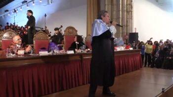 Imagen de portada de Preguntas sonoras #1. «Himno a la alegría» (Orquesta y Coro de la UGR – Miguel Ríos)