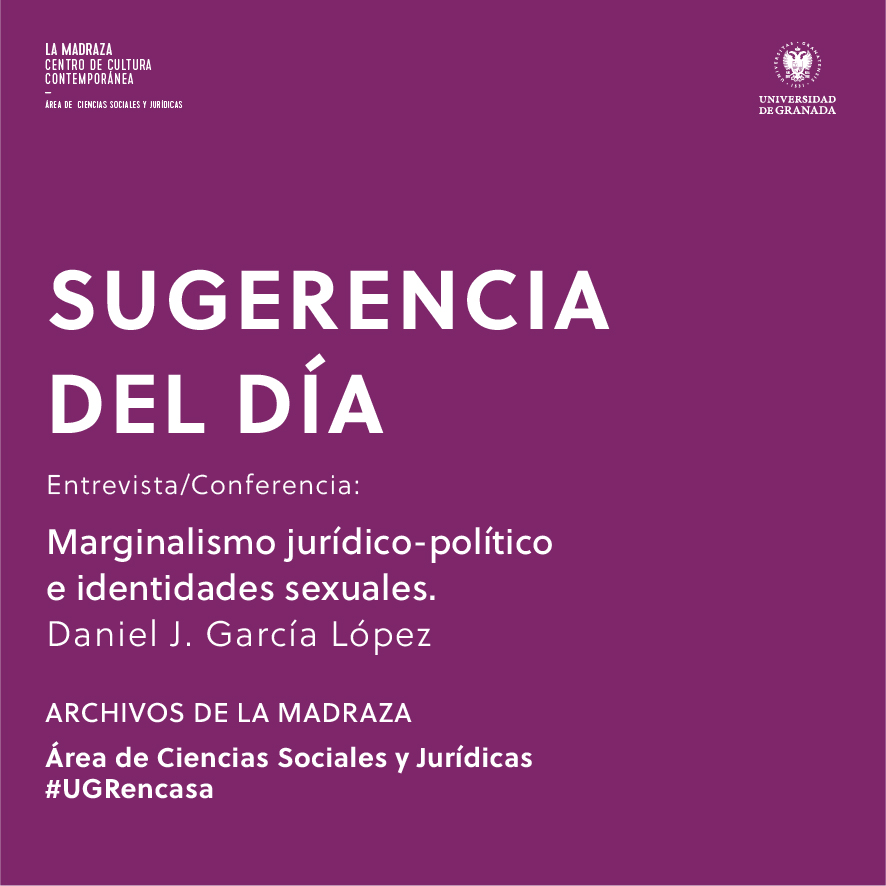 Imagen de portada de Sugerencia del día: Entrevista-Conferencia: Marginalismo jurídico-político e identidades sexuales