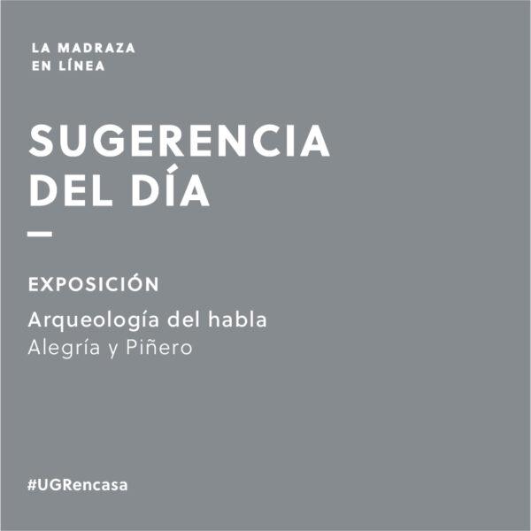 Imagen de portada de Sugerencia del día: Exposición 'Enciclolalia. Arqueología del habla'