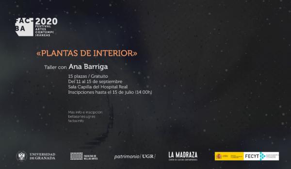 Imagen de portada de TALLER DE PRODUCCIÓN ARTÍSTICA FACBA 20 con ANA BARRIGA