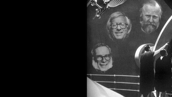 Imagen de portada de Sobre Isaac Asimov, Ray Bradbury y Frank Herbert. Ciclo «Entre las estrellas y la Tierra: los mundos futuros de Isaac Asimov, Ray Bradbury & Frank Herbert»