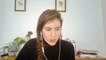 Imagen de portada de Mayte Gómez Molina «Ojos que tocan: la experiencia virtual como provocación a la escritura»