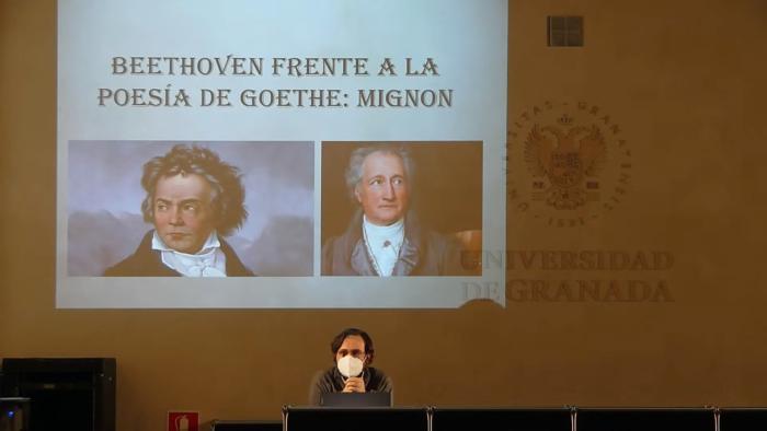 Imagen de portada de Beethoven frente a la poesía de Goethe: Mignon