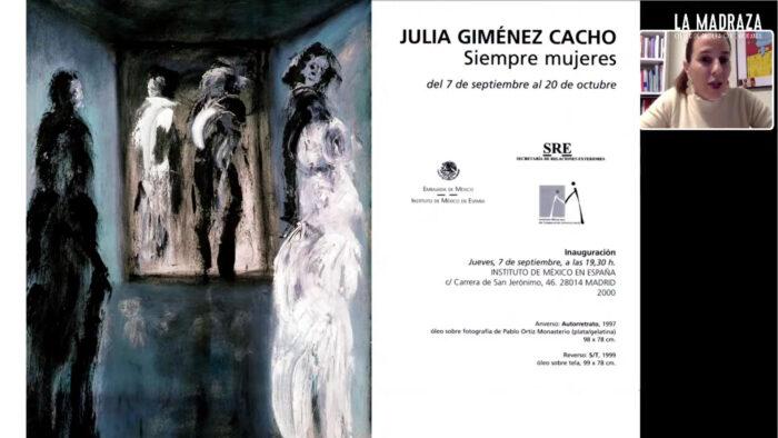 Imagen de portada de MUJERES: HOMENAJE A JULIA GIMÉNEZ CACHO