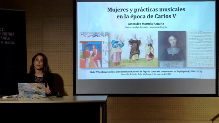 Imagen de portada de MUJERES Y PRÁCTICAS MUSICALES EN LA ÉPOCA DE CARLOS V