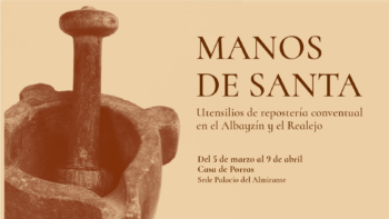 Imagen de portada de EXPOSICIÓN «MANOS DE SANTA»