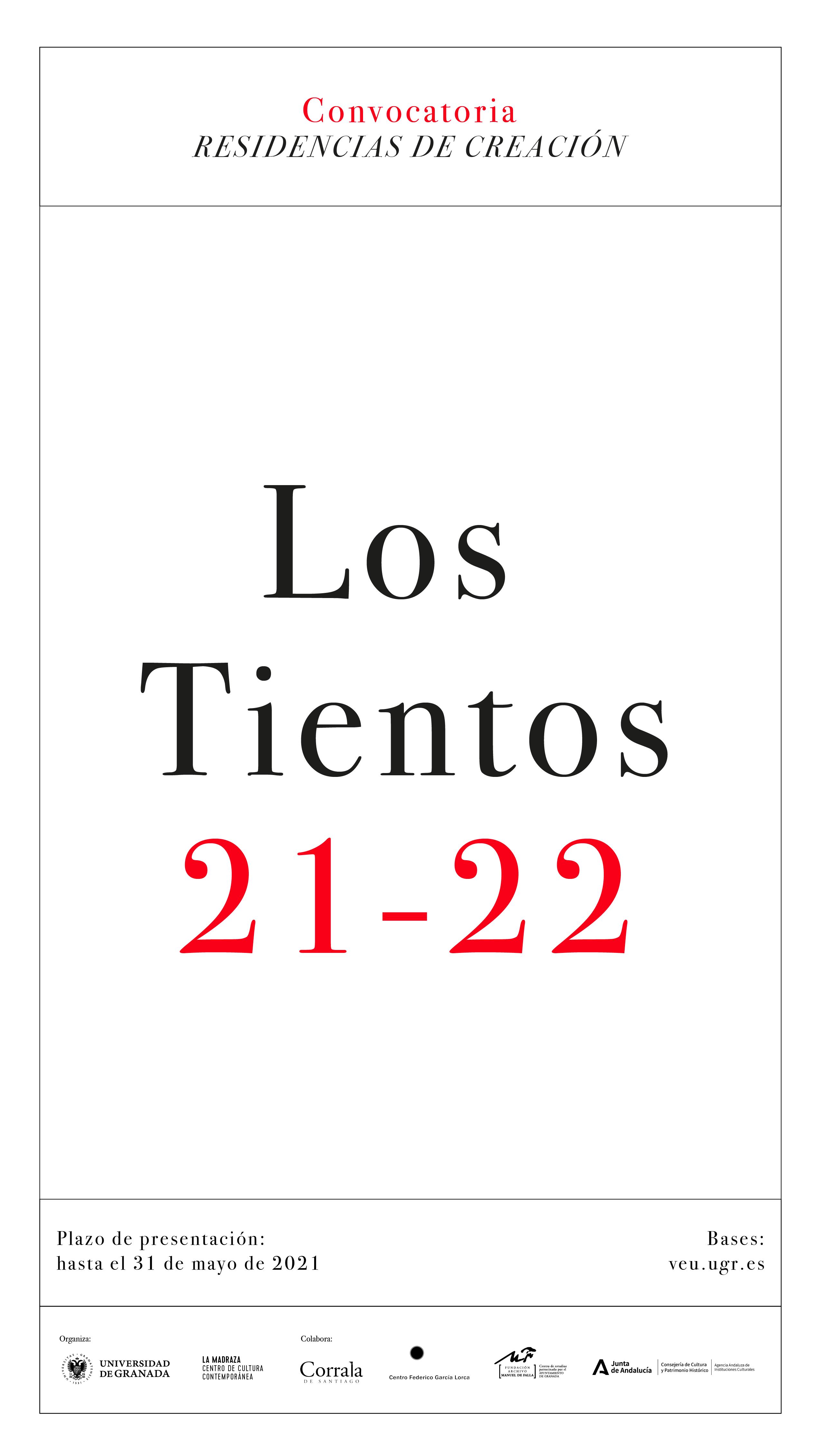 Imagen de portada de Programa de Residencias de creación: «Los Tientos»