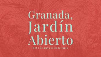 Imagen de portada de Granada, jardín abierto