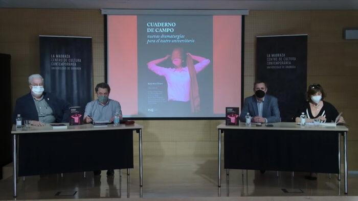 Imagen de portada de CUADERNO DE CAMPO  Nuevas dramaturgias para el teatro universitario