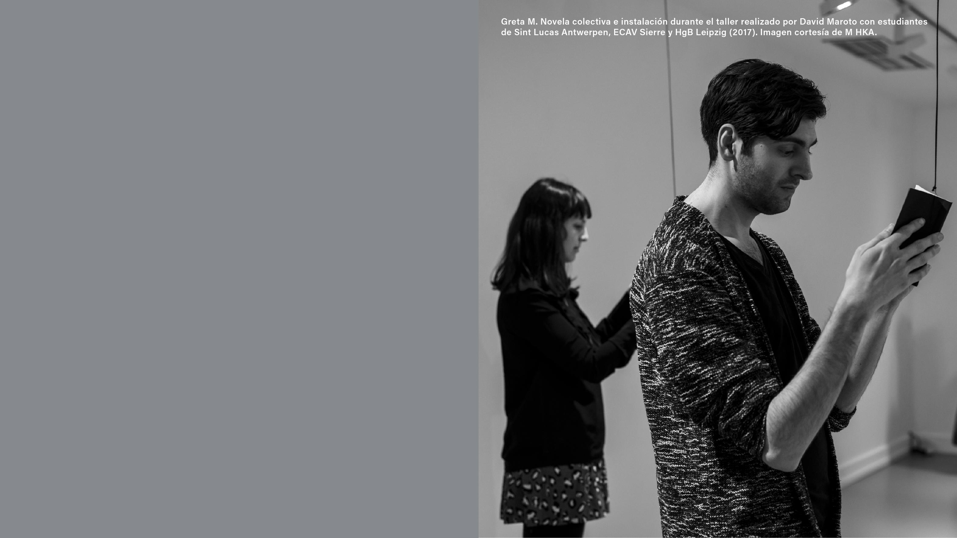 Imagen de portada de Selección Taller novela colectiva «Doble Juego» con David Maroto