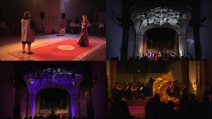 Imagen de portada de HORIZONTE 2031: espectáculo músico-escénico. Orquesta, Coro y Artes Escénicas de la UGR