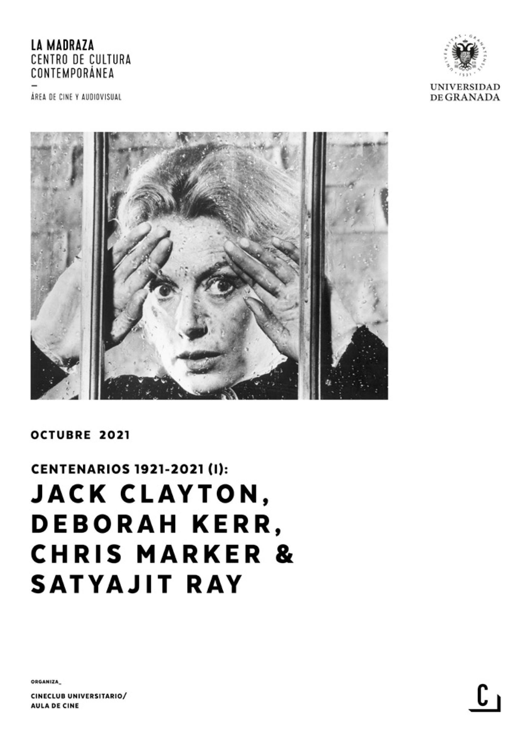 Imagen de portada de Centenarios 1921-2021 (I): Jack Clayton, Deborah Kerr, Chris Marker & Satyajit Ray