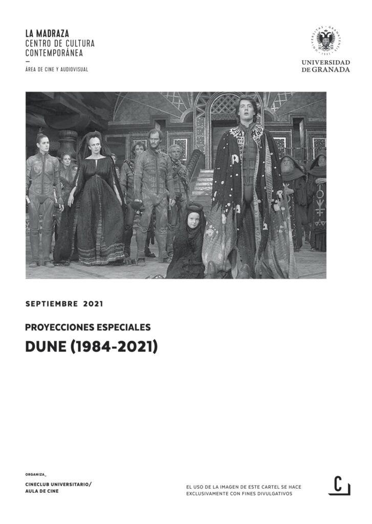 Imagen de portada de Proyecciones especiales. Dune (1984-2021)