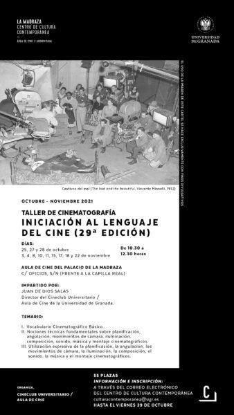 Imagen de portada de Taller «Iniciación al lenguaje del cine (29 ª ed.)»