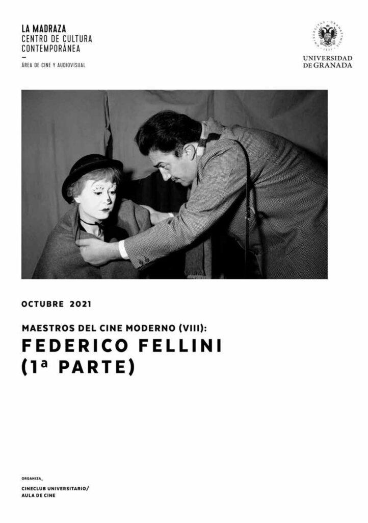 Imagen de portada de Maestros del cine moderno (VIII): Federico Fellini (1ª parte)