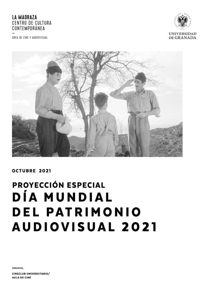 Imagen de portada de Día mundial del Patrimonio audiovisual 2021